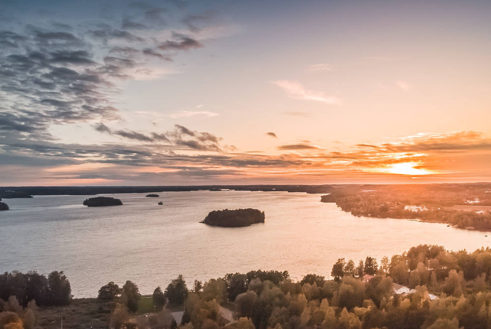 Sunset in Pispala, Tampere (Credit: Laura Vanzo)