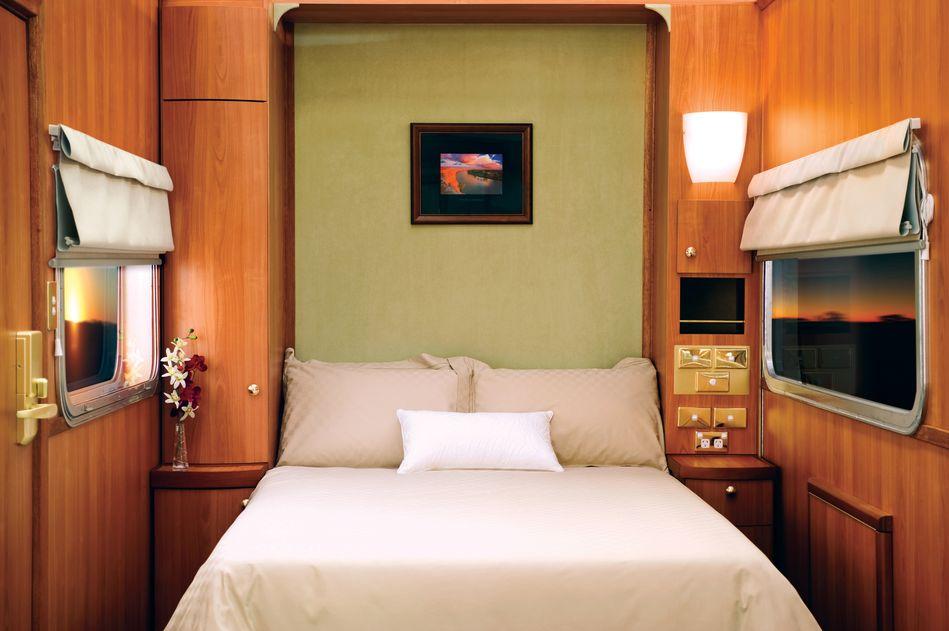 Bed of Ghan Platinum Suite