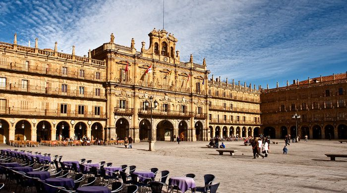 Plaza Mayor of Salamanca, Spain