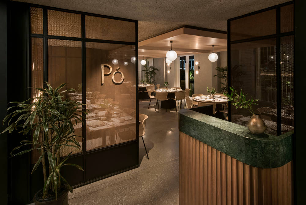 Po Restaurant, The Warehouse Hotel