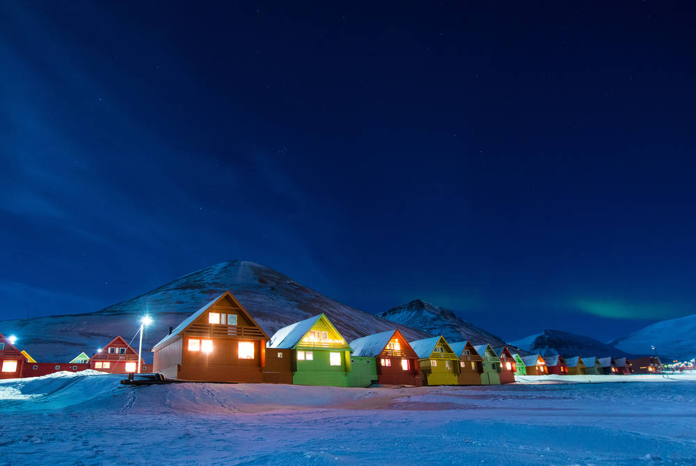 Polar Night, Svalbard