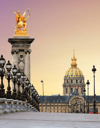 Pont Alexandre III , Paris, France