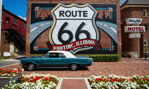 Pontiac Route 66 Mural, Illinois
