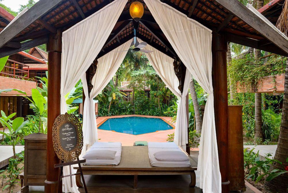Pool, Angkor Village, Cambodia