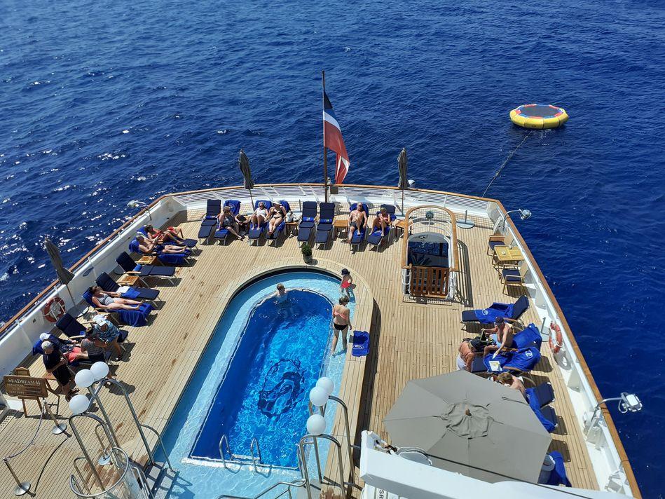 Pool Deck, SeaDream Yacht Club