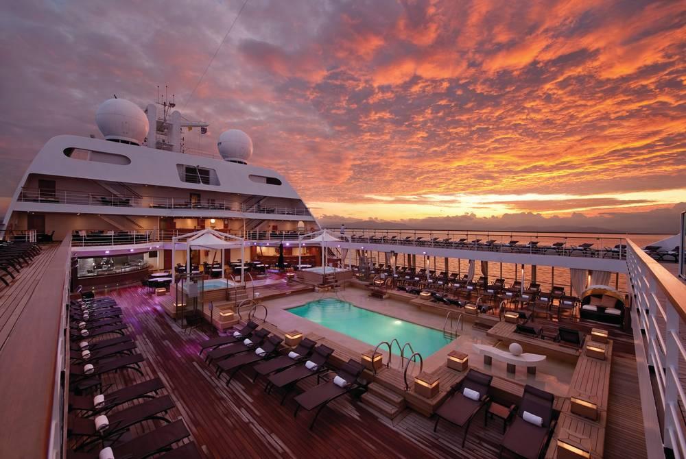 Pool Deck, Seabourn Odyssey
