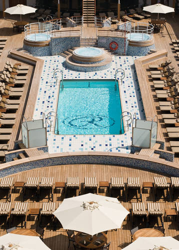 Pool Deck, Seven Seas Mariner, Regent Seven Seas