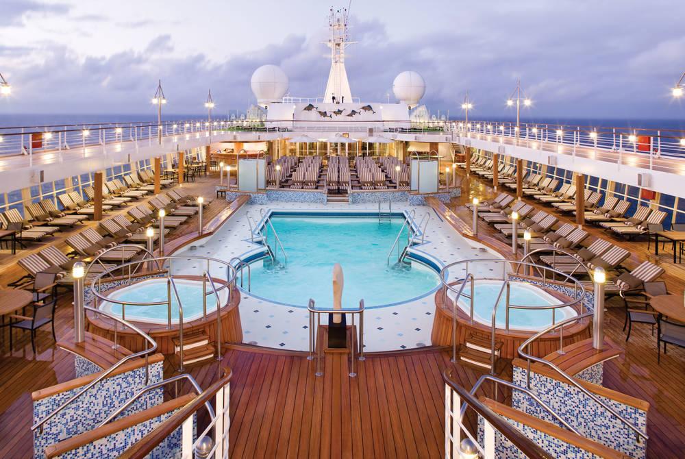 Pool deck, Seven Seas Voyager, Regent Seven Seas