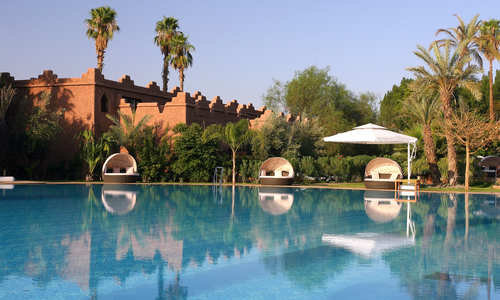 Pool, Es Saadi Palace, Marrakech, Morocco