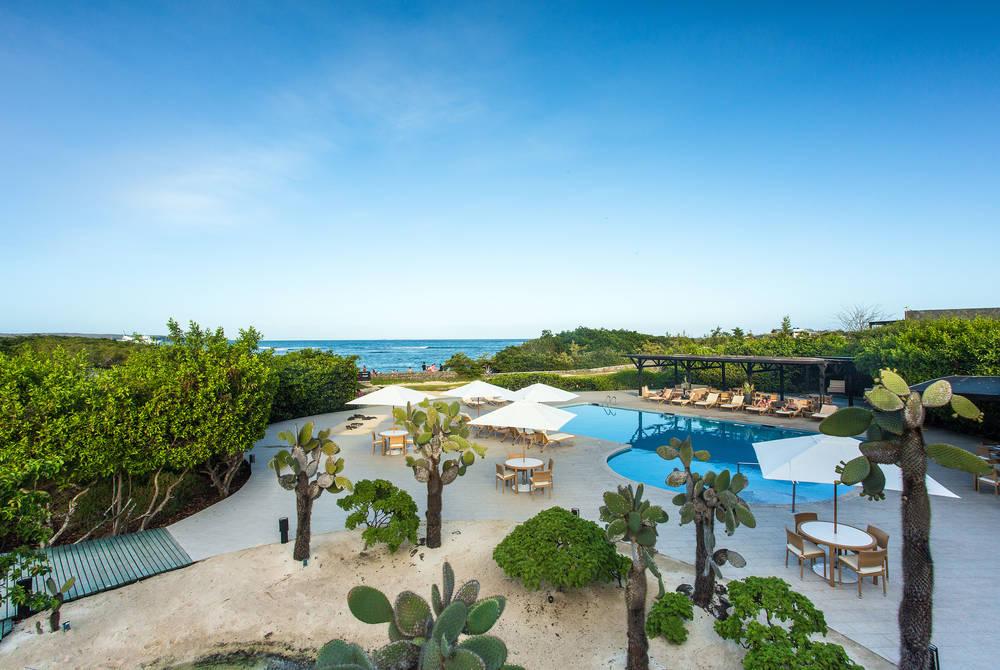 Pool, Finch Bay Eco Hotel, Puerto Ayora, Galapagos