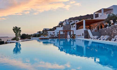 Pool, Katikies Mykonos