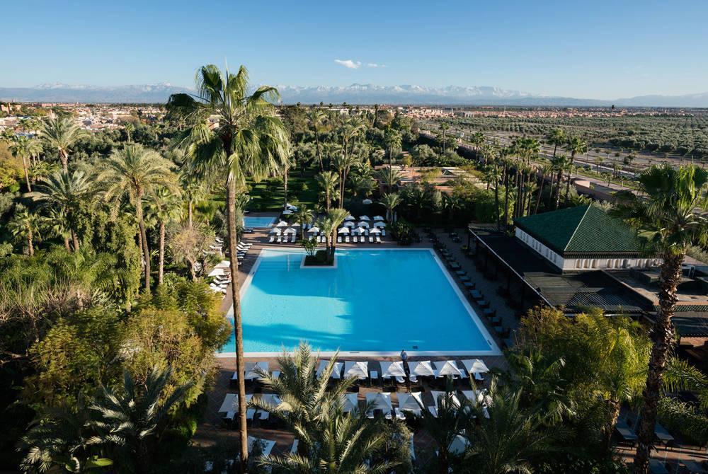 Pool, La Mamounia, Marrakech, Morocco