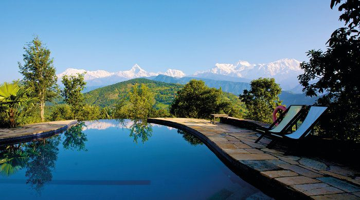 Pool & Mountains Bures, Tiger Mountain Pokhara Lodge