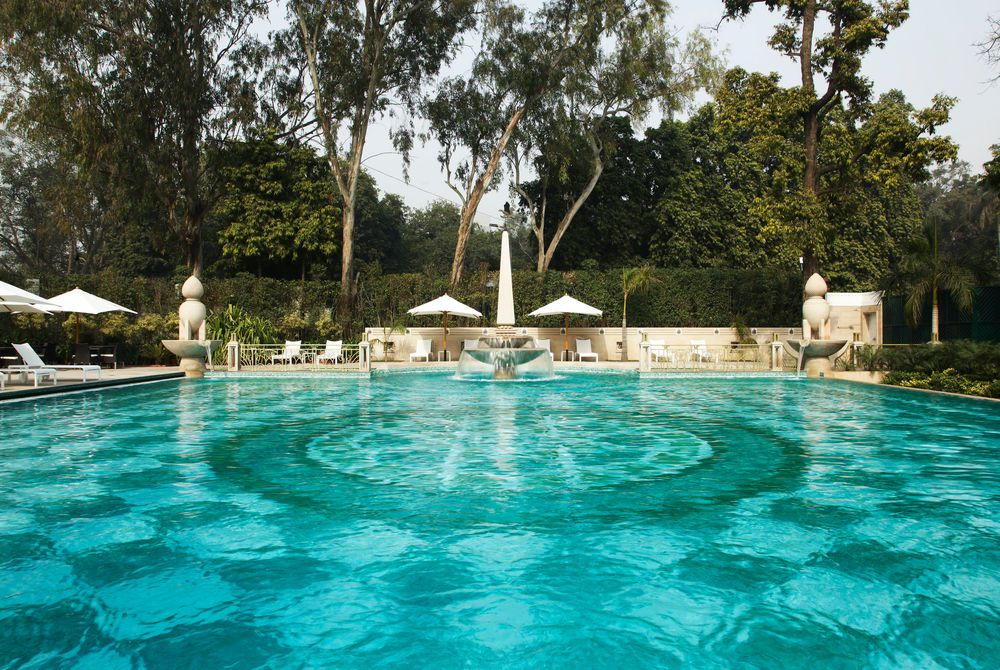 Pool Outside, The Imperial Hotel, Delhi, India
