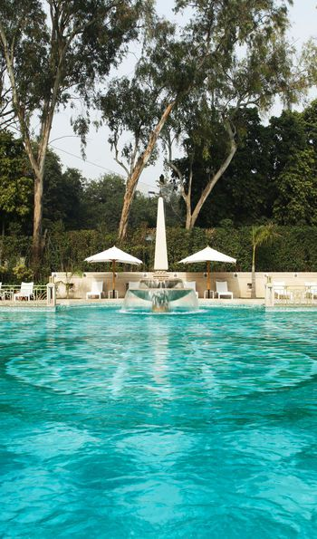 The pool at the Imperial, Delhi