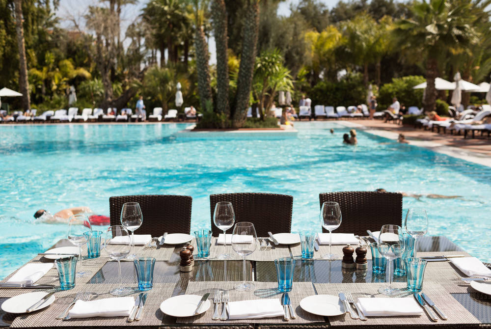 Pool Pavilion, La Mamounia, Marrakech, Morocco