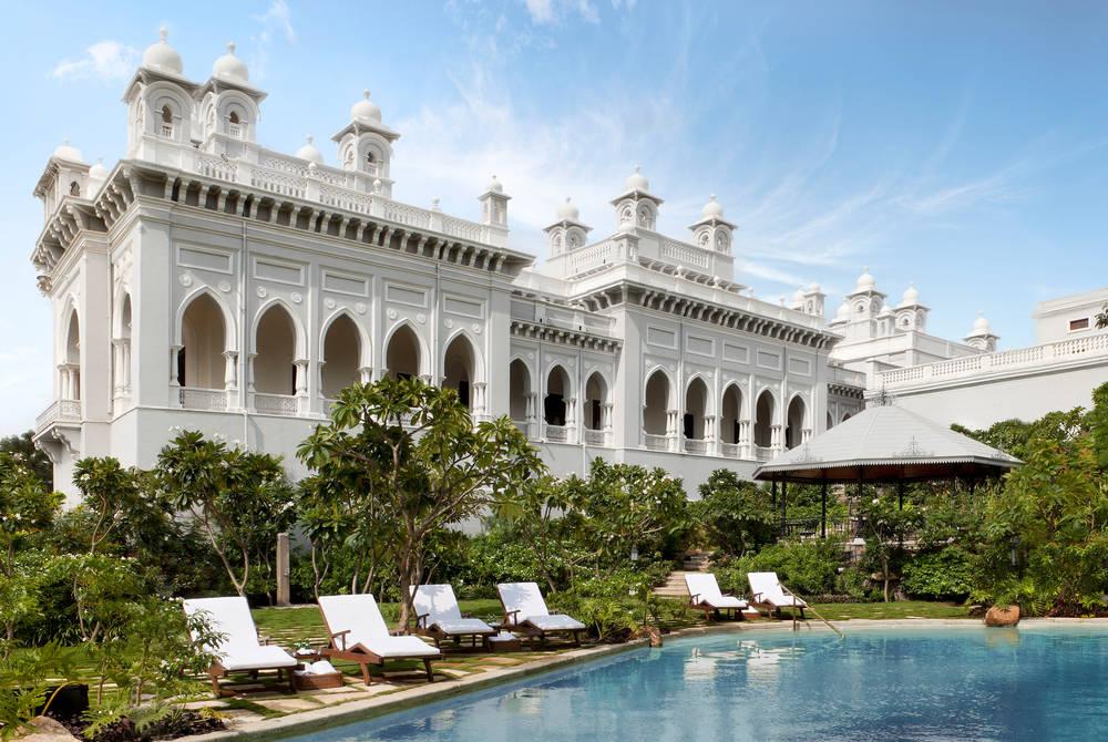 Pool, Taj Falaknuma Palace, Hyderabad