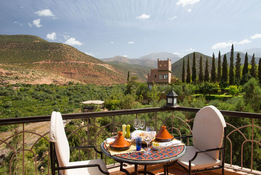 Pool Terrace, Kasbah Tamadot