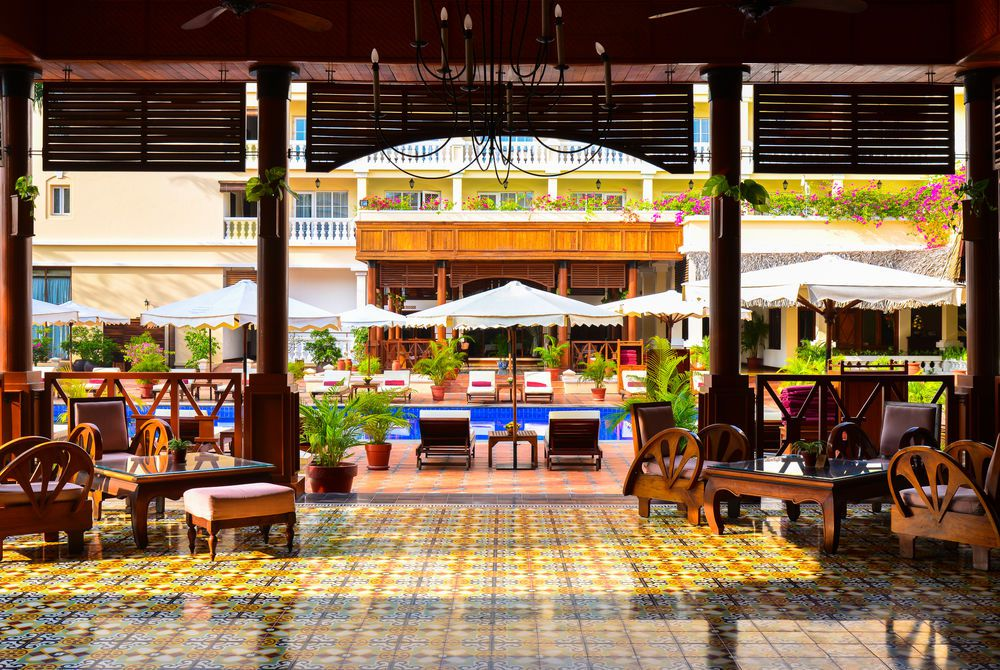 Pool Terrace, Victoria Can Tho, Mekong Delta, Vietnam