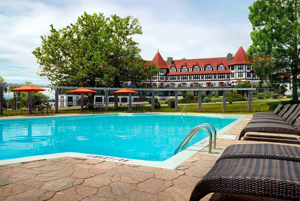 Pool, The Algonquin Resort, St Andrews by the Sea, New Brunswick