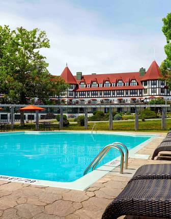 Pool, The Algonquin Resort, St Andrews by the Sea