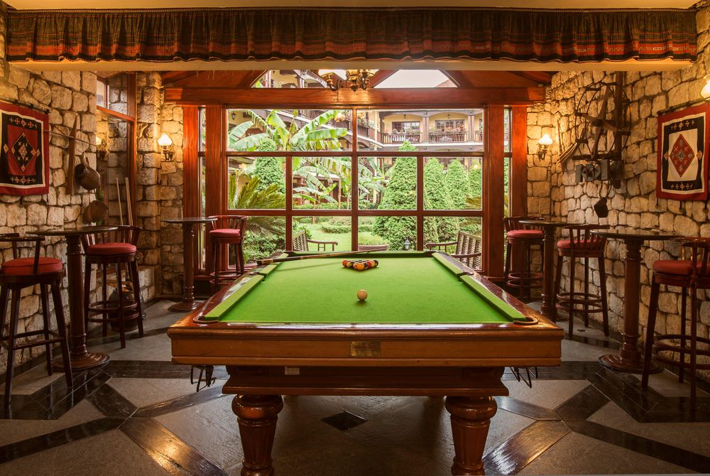 Pool table, Victoria Sapa Resort & Spa, Lao Cai Province