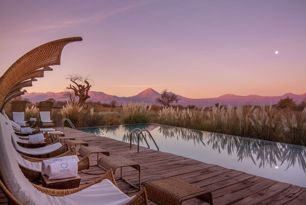 Pool view, Tierra Atacama Hotel & Spa