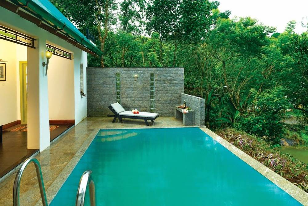 Pool villa, Aanavilasam Luxury Plantation House, Kerala