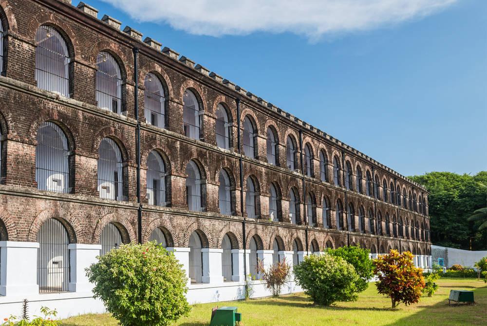 Former prison at Port Blair