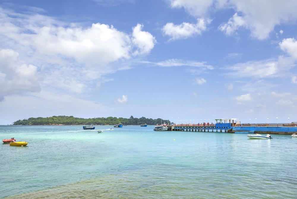 Port Blair jetty