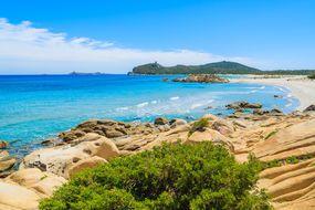 Porto Giunco bay, Sardinia, Italy
