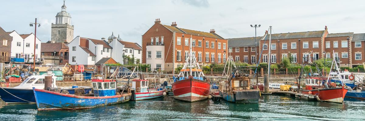 Portsmouth Docks, Hampshire, UK