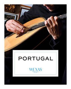 Cover for brochure Portugal