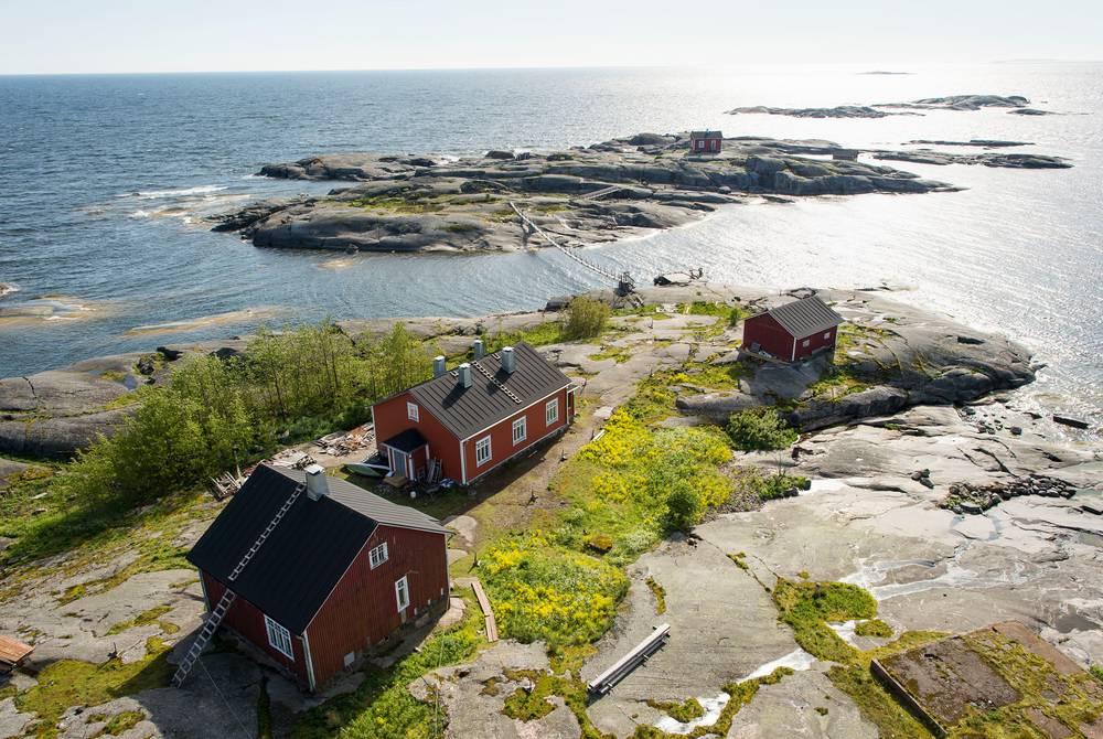 Archipelago island near Porvoo