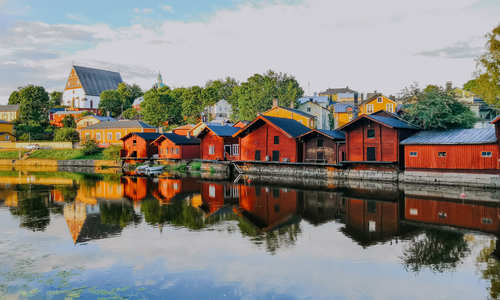 Helsinki & Porvoo with coastal cruise