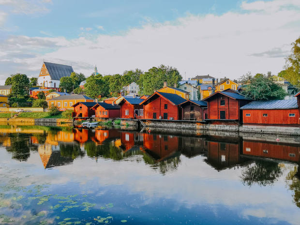 Porvoo in southern Finland