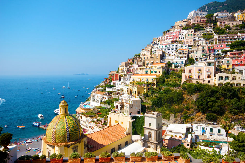 View of Sorrento on Italy's Amalfi Coast