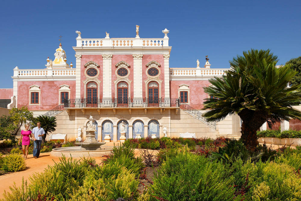Pousada of Estoi, Algarve (Credit: Algarve Promotion Bureau)