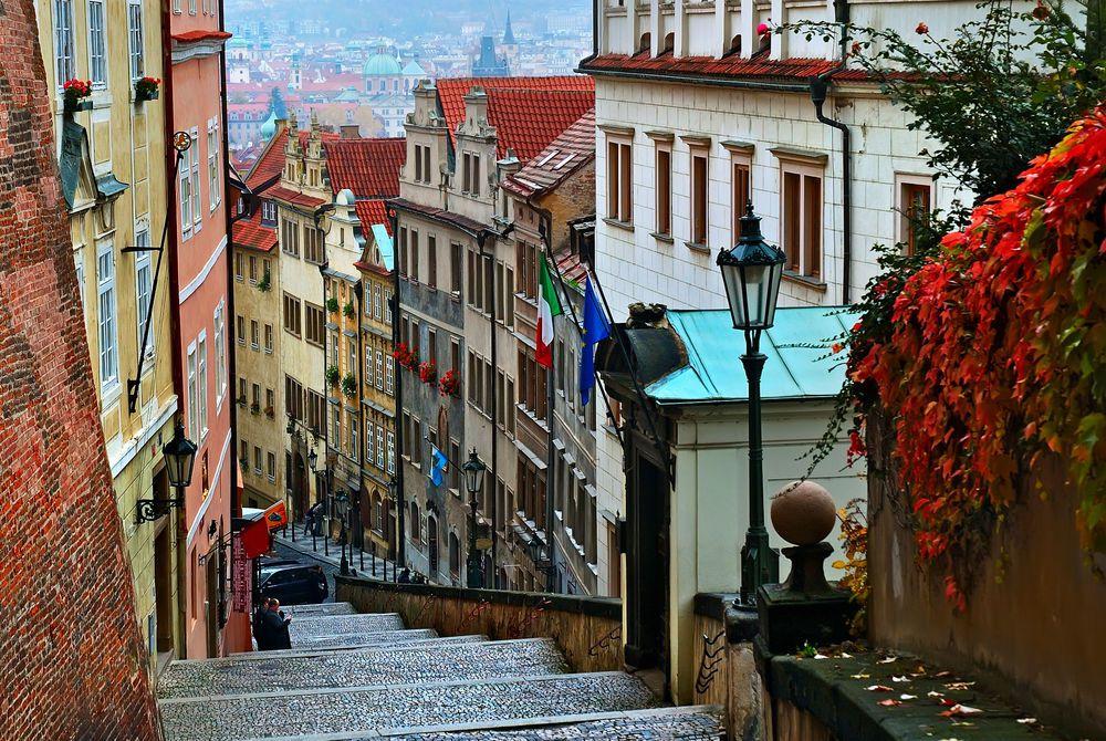 Prague streets, Czech Republic