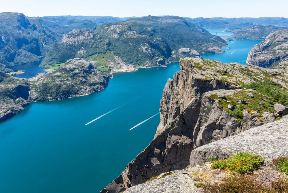 Lysefjorden , Outdoorlife Norway