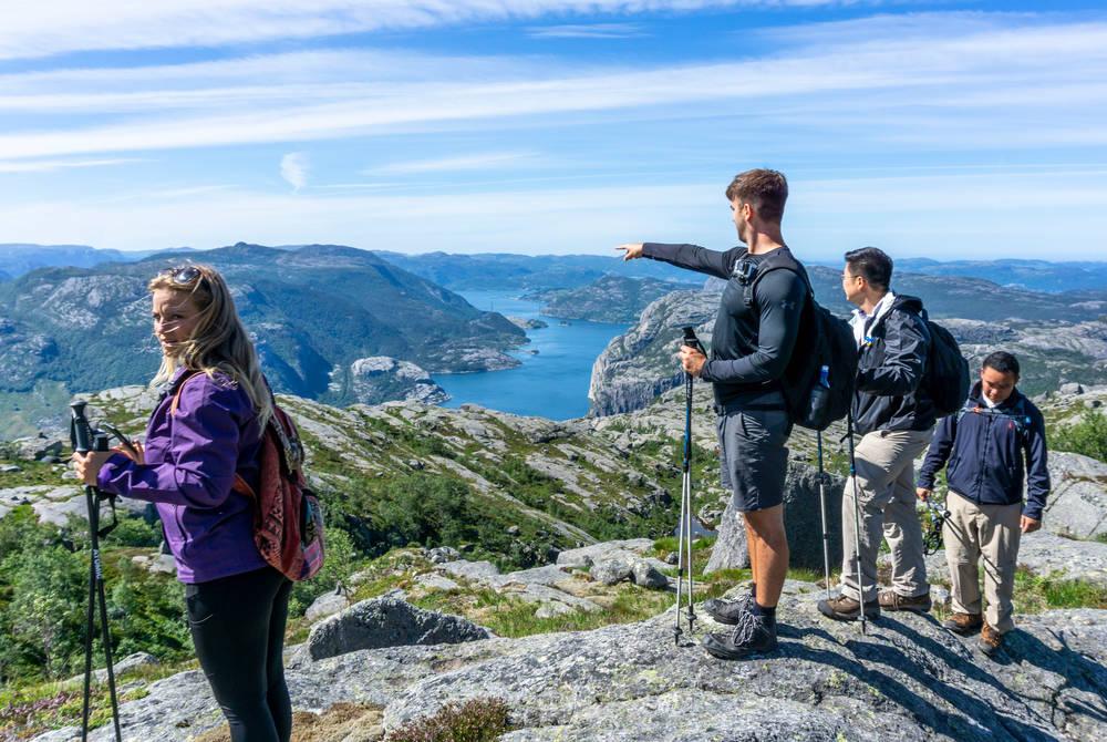 Pulpit Rock hike, Outdoorlife Norway