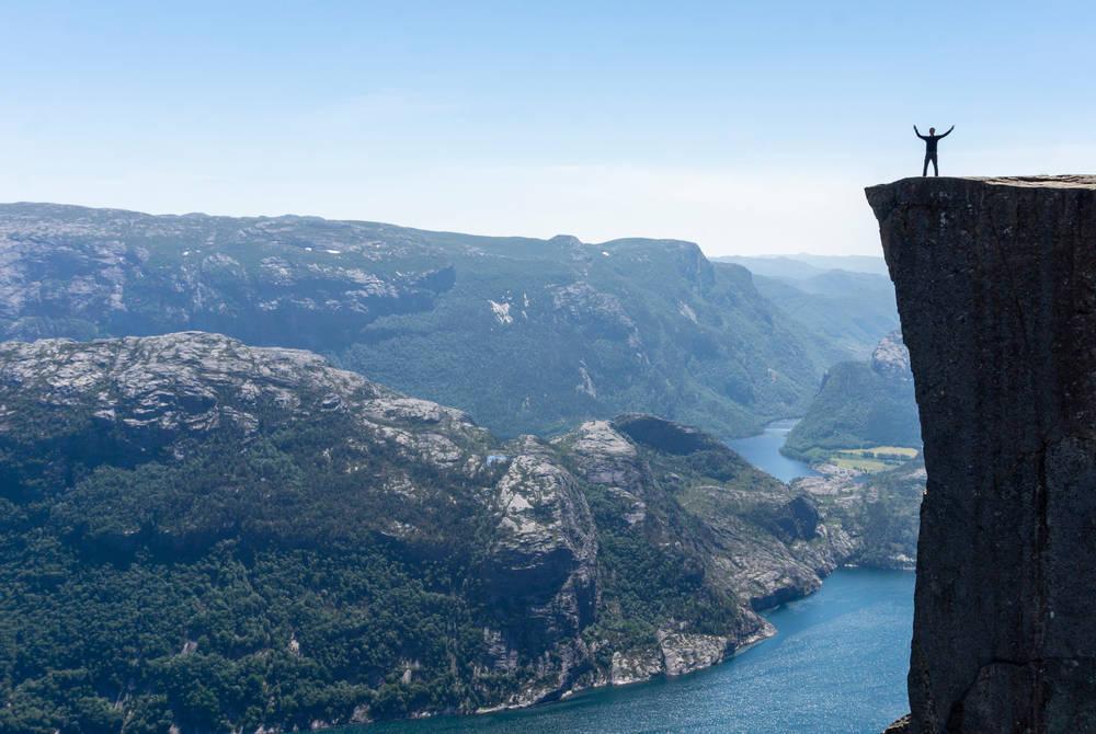 Pulpit Rock, Outdoorlife Norway