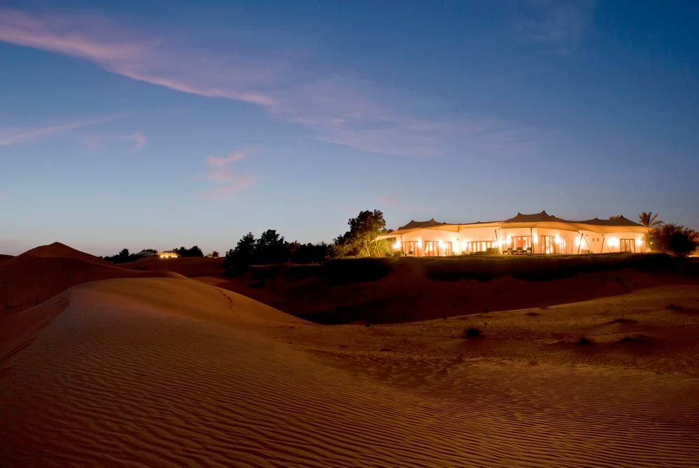 Presidential Suite exterior, The Al Maha Desert Resort, Dubai