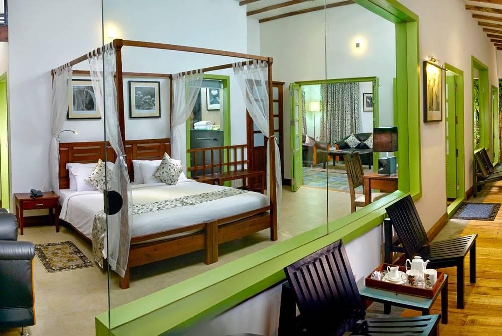Presidential suite, Aanavilasam Luxury Plantation House, Kerala