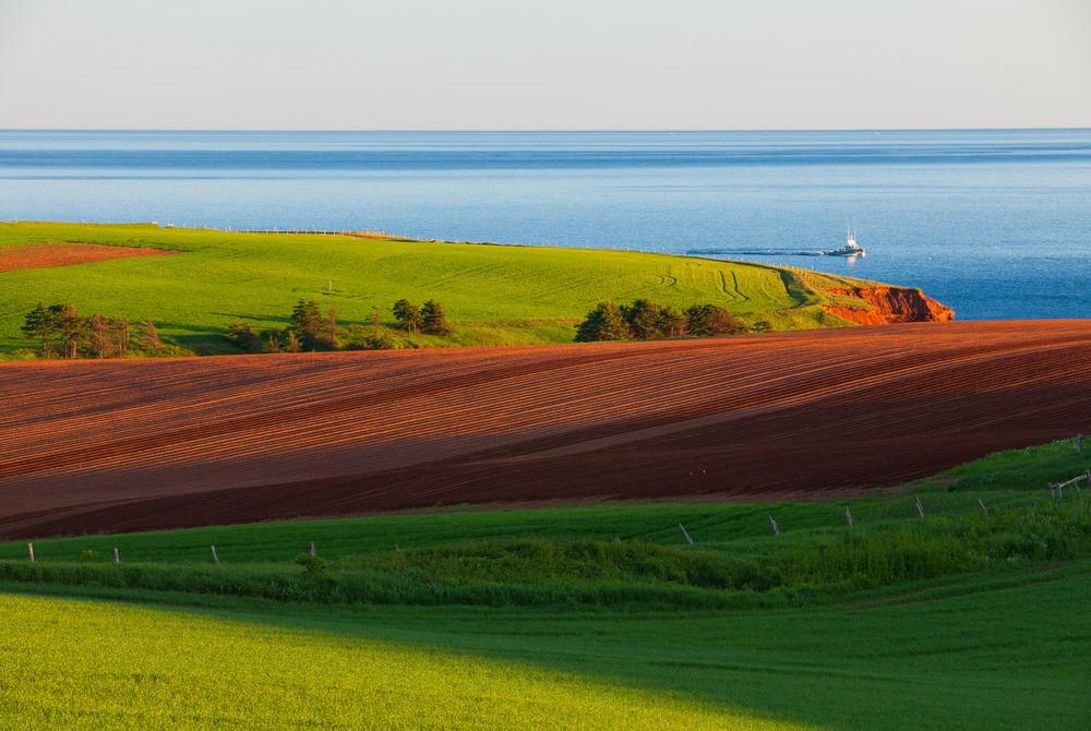 Prince Edward Island landscape in Atlantic Canada