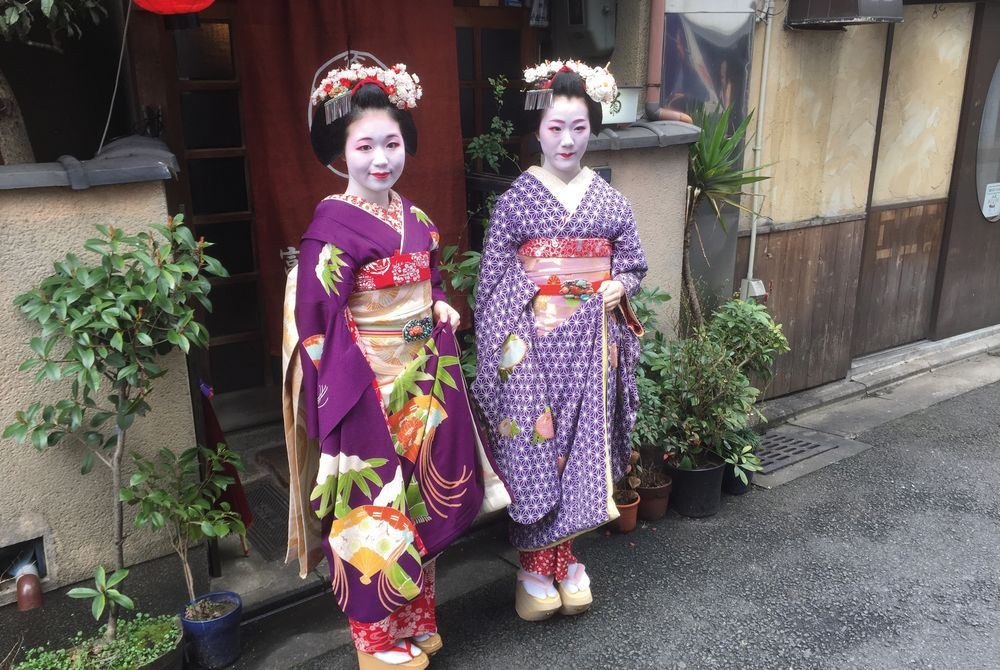 Private Audience with a maiko, Kyoto