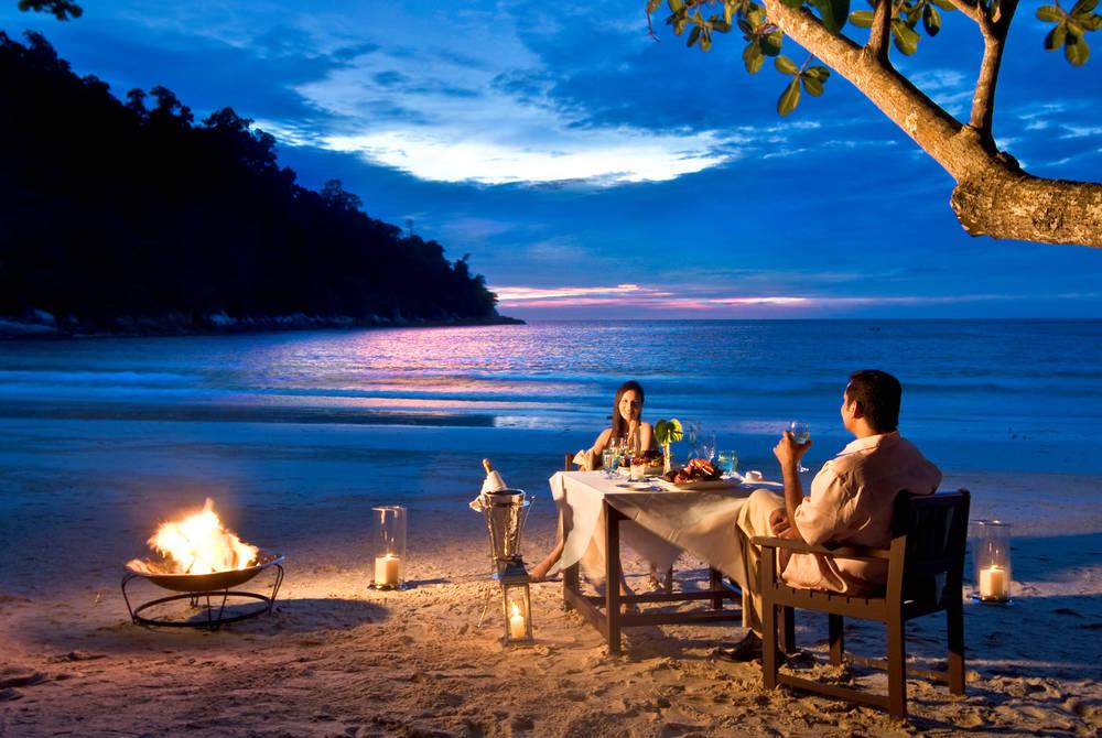 Private Dining, Emerald Bay, Pangkor Laut Resort, Malaysia