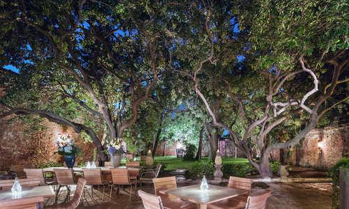 Private Garden, Hotel Heureka