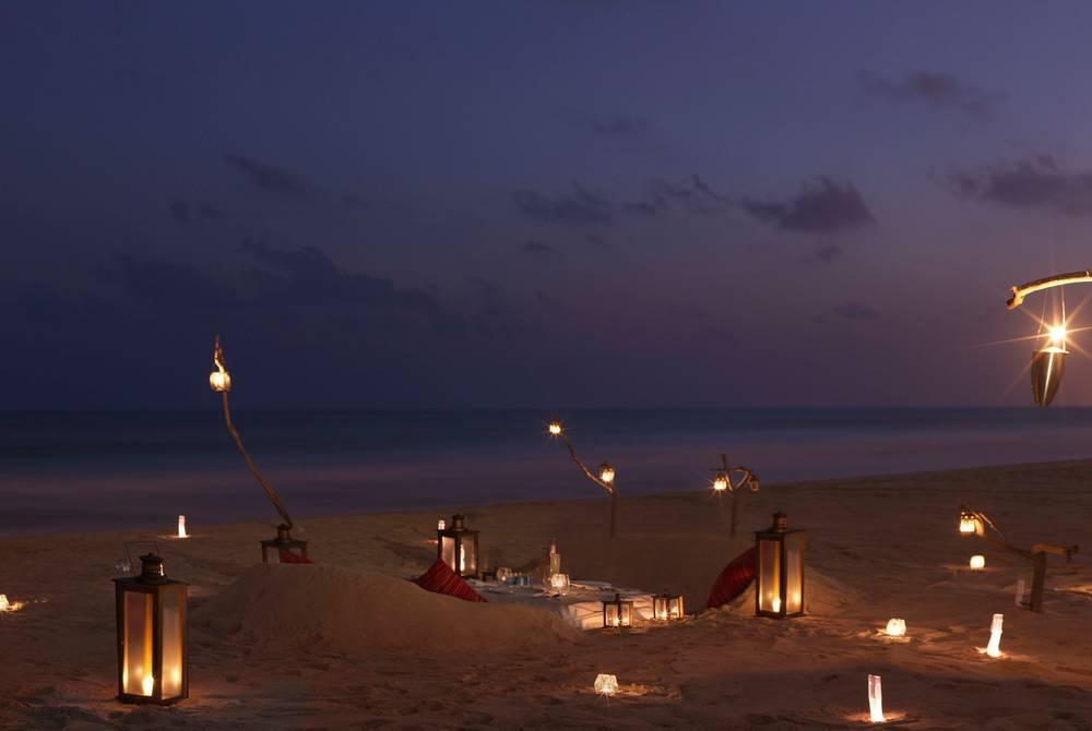 Private dining, Al Baleed Resort Salalah by Anantara, Oman