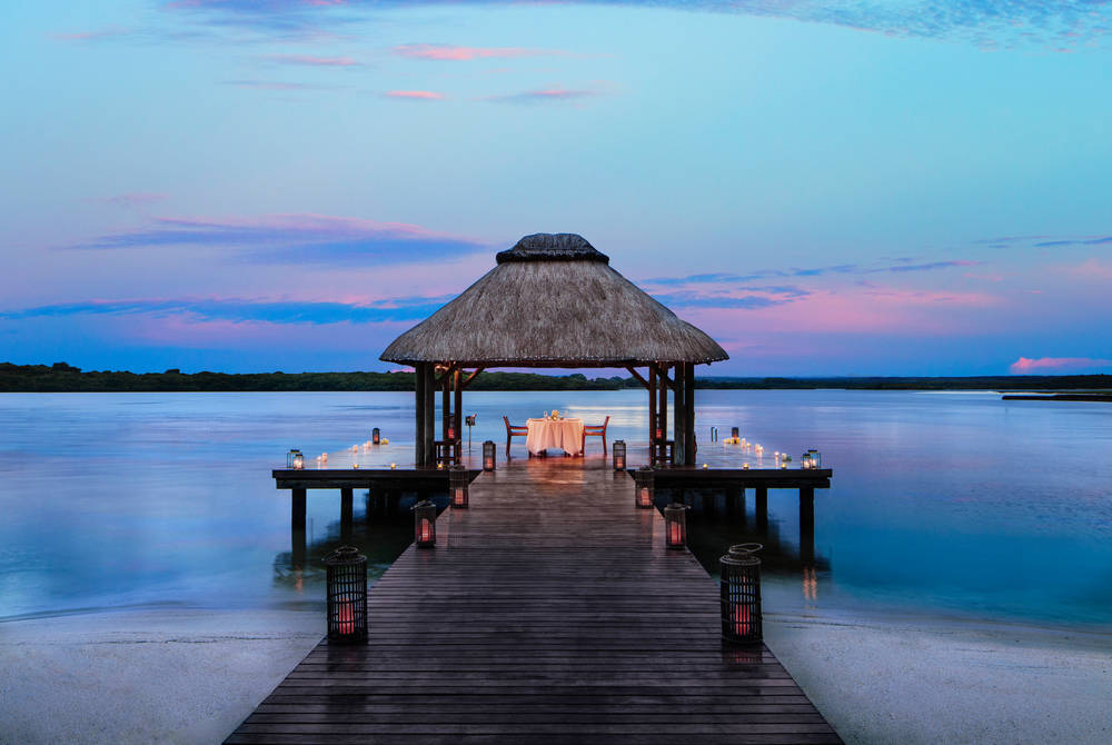Private dining, One&Only Le Saint Géran, Mauritius